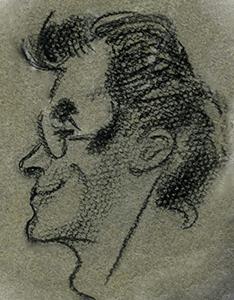 La première caricature de La Caricaturiste