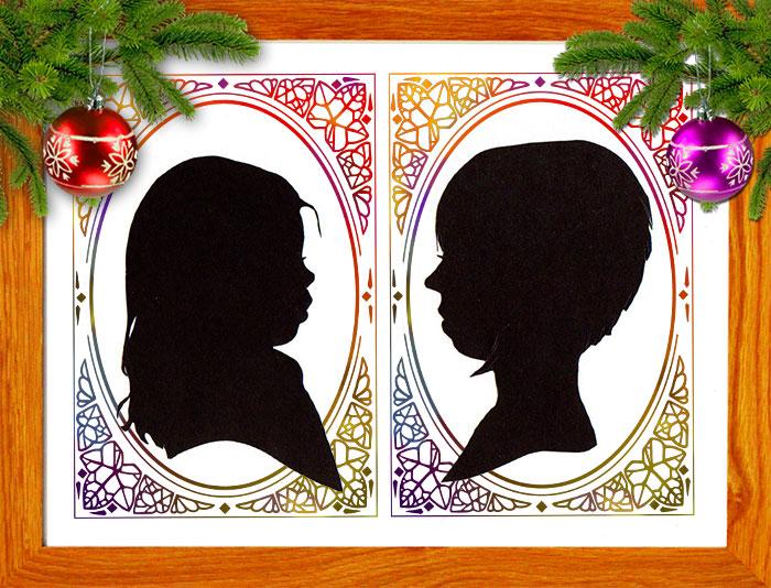 silhouettes-encadrees
